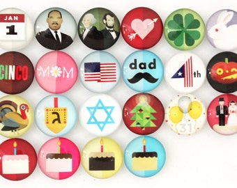 Holiday Magnets