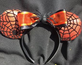 Halloween Spider Web Ears