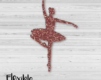 Ballerina Iron-On Transfer