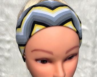 Zig-Zag athletic headband