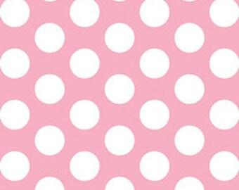 Half Yard This 'N That - Gum Drops in Petal Pink - Cotton Quilt Fabric - Designed by Nancy Halvorsen for Benartex (w1655)