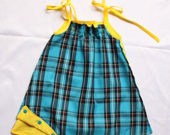 "Made in France. ""Hopscotch""   Dress   Unique piece"