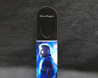 Steve Rogers - Captain America - Avengers: Infinity War Metal Bookmark