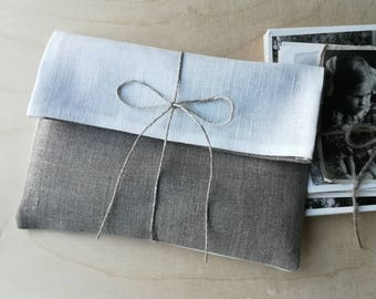 """5""""x7 """" Set of 20-30 Photo/Picture/Card/Print/Jewelry linen packaging.Linen envelopes.Linen bags.Favor bags.Picture wrapping.Baby shower."""