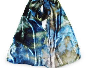 Velvet scarf, blue scarf, blue velvet scarf, green velvet, trending now, velvet scarves, hot selling items, silver velvet, womens scarves