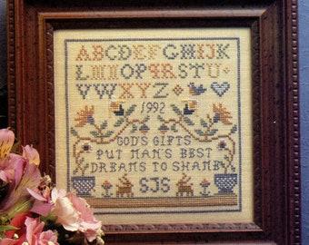 God's Gift Sampler ~ Cross Stitch Pattern
