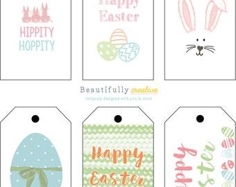Easter Printable Tags / DIY Printables / Easter Gift Tags