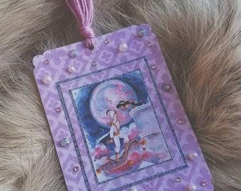 Aladdin & Jasmine Bookmarker