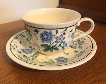 Nikko Tableware China Teacup and Saucer