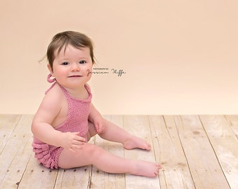 Simply Knitted sitter romper