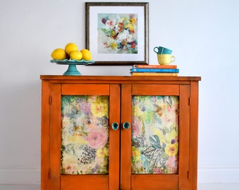 Layered one of a kind sideboard!!