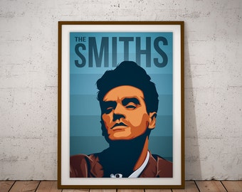 The Smiths - Morrissey Poster