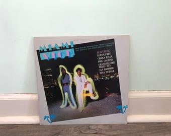Miami Vice soundtrack vinyl record
