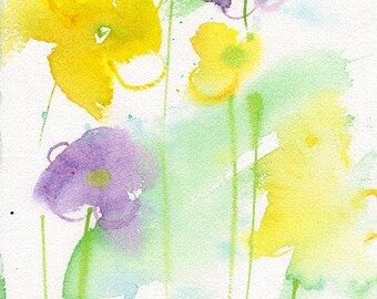 Fresh Pick No.275, limited edition of 50 fine art giclee prints from my original watercolor