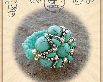 Ring tutorial / pattern Elek ring – PDF instruction for personal use only