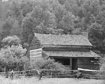 Cabins and Barns Notecards