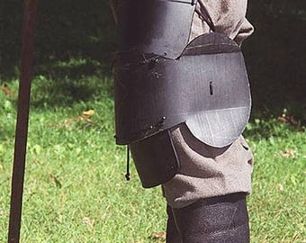 Leg Armor from Dark Victory Armory - SCA Legal LARP REN Medieval Fighting Gear