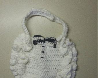 Baby Infany Tuxedo Bib - Wedding Attire Accessory