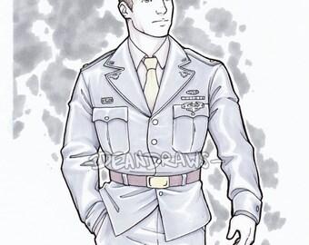 Captain Steve Rogers (PRINT)
