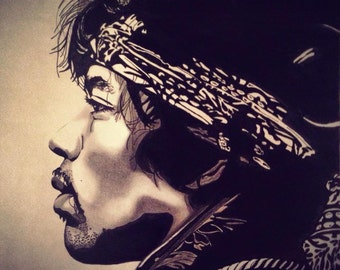Jimi Hendrix (Original Artwork)
