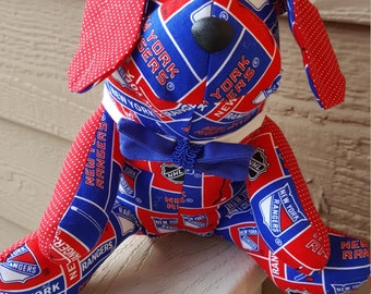 New York Rangers Hockey Dog