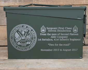 Military Ammo Can 30 Cal Personalized