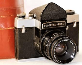 KIEV-6C Camera VEGA-12B 2.8/90 2,8 Lens #7803360 /sv
