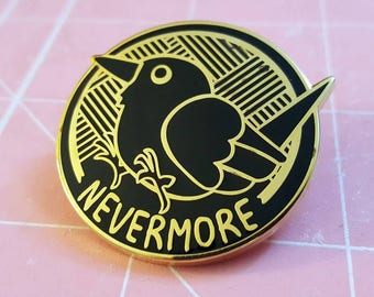 Nevermore - Enamel Pin
