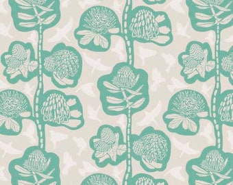 Sweet Dreams by Anna Maria Horner for Free Spirit - Remains - Seafoam - 1/2 yard Cotton Quilt Fabric