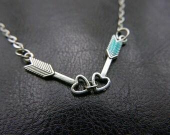 Lover Arrow Necklace
