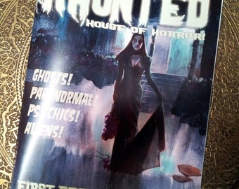 HAUNTED HOUSE of HORROR Creepy Comic Magazine Digital Download by Mike Von Hoffman