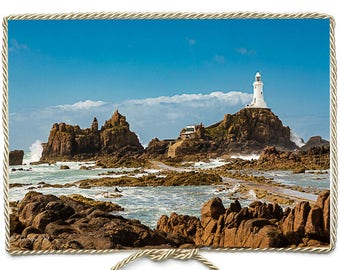 Photographic Print:  Lighthouse, Jersey