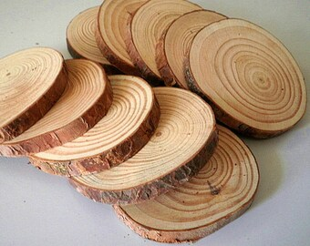 Tree Slices,Wood Slices,Rustic Wedding Decor, home decor, DIY, Woodwork Supplie,mat, coaster,Beautiful texture,1 pieces Tree Slices