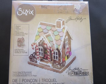 Tim Holtz Alterations - Sizzix Gingerbread House Die - 661608