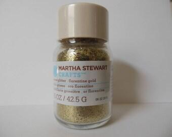 Martha Stewart Coarse Glitter - Florentine Gold