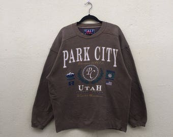 Vintage Park City Skiing Sweatshirt by Signal 8Zb3WS