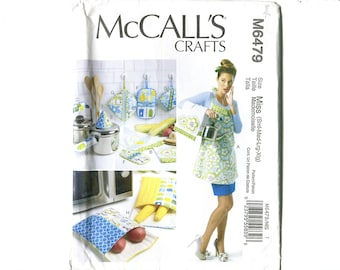 Crafts (Apron, Towel, Potholders & Bags) - McCall's 6479