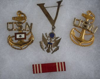WWII Navy Medals