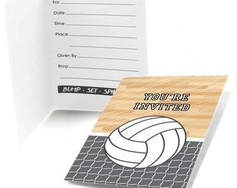 Volleyball Invite Etsy - Party invitation template: volleyball party invitation template