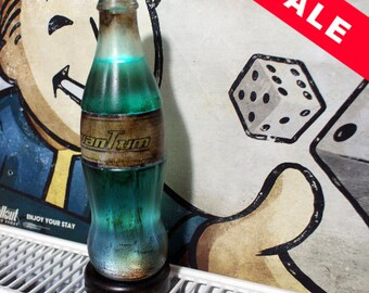 Fallout Nuka Cola Quantum LED Bottle Lamp