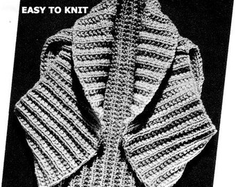 Shoulder Shrug Easy Knitting Pattern 726068