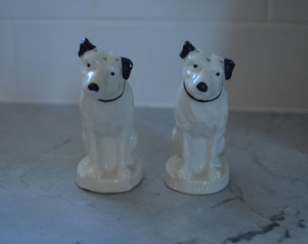 RCA dog salt and pepper shakers