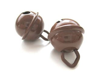 Bell 15mm chocolate baby