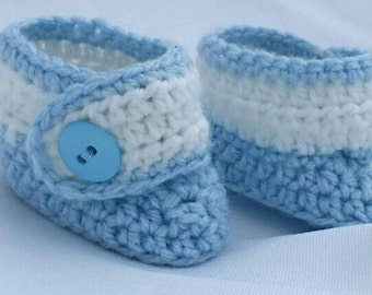 Premie booties, button boots, size premie, small newborn, handmade crochet, gender neutral, baby booties, wrap around boots, 3-6lb premie