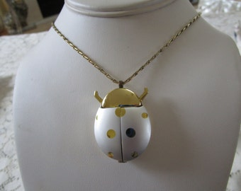 PRICE REDUCED: Vintage Lady Bug Watch Pendant