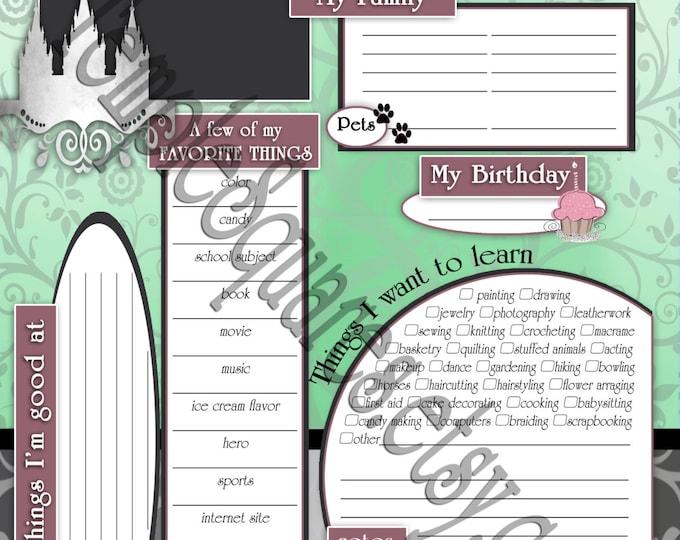 Printable YW 2017 Presidency Planner Calendar Add-Ons. Editable Young Women Organization Time Savers.  Bundled to Save!