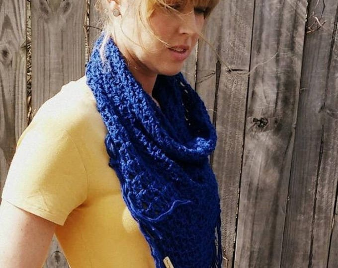 Crochet Cowl Pattern, Nantucket Bay Cowl PATTERN ONLY, Crochet Pattern, Cowl Pattern