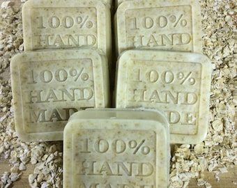 All Natural Goat's Milk and Beeswax Soap (3 Bars)