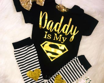 DADDYS PRINCESS Mix and Match Set Baby Girl Clothing