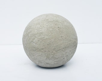 Cement and Mortar Decorative Sphere